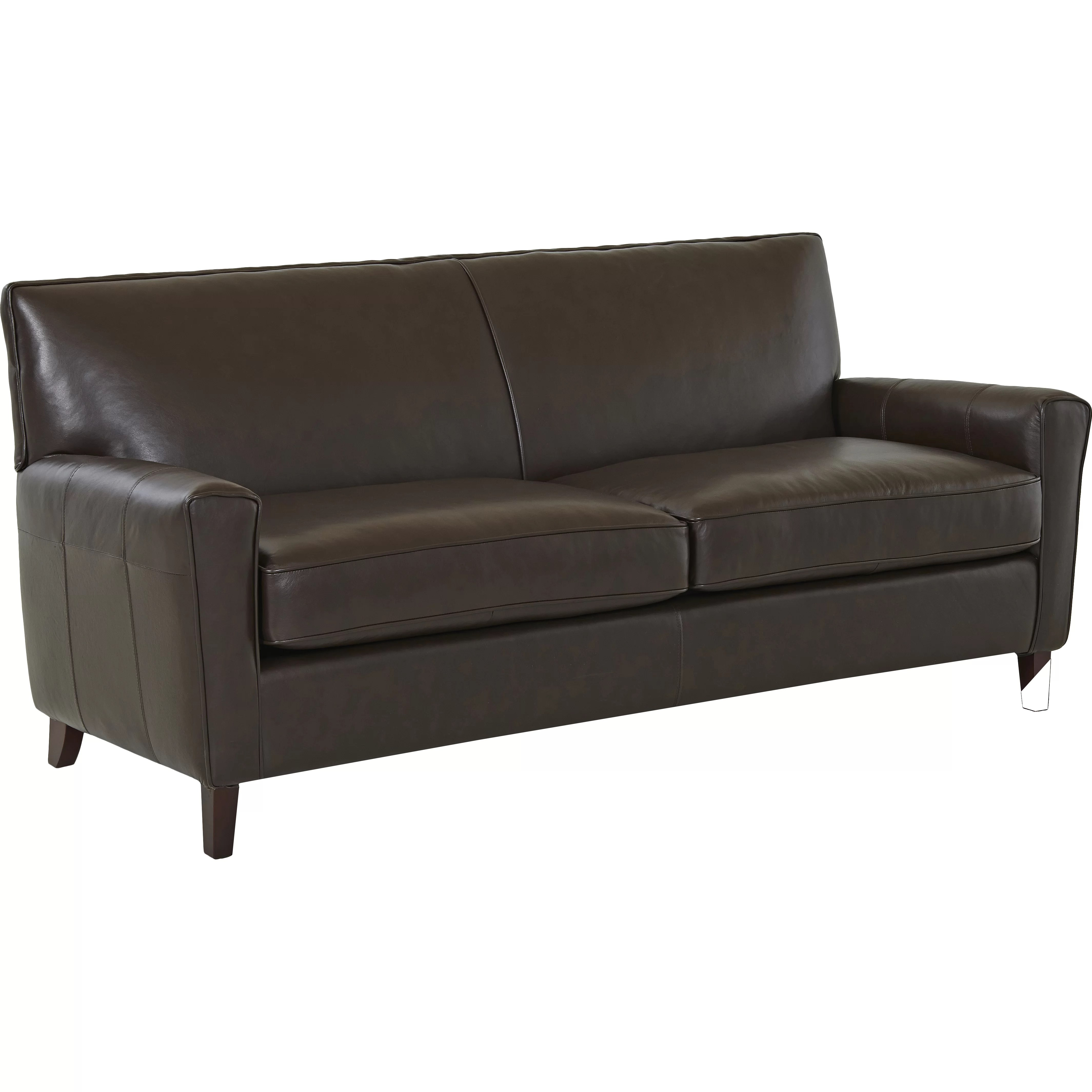 wayfair sofa reviews colored sectional sofas custom upholstery grayson leather and