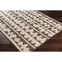 Lotta Jansdotter Decorativa Hand-Tufted Brown/Neutral Area ...