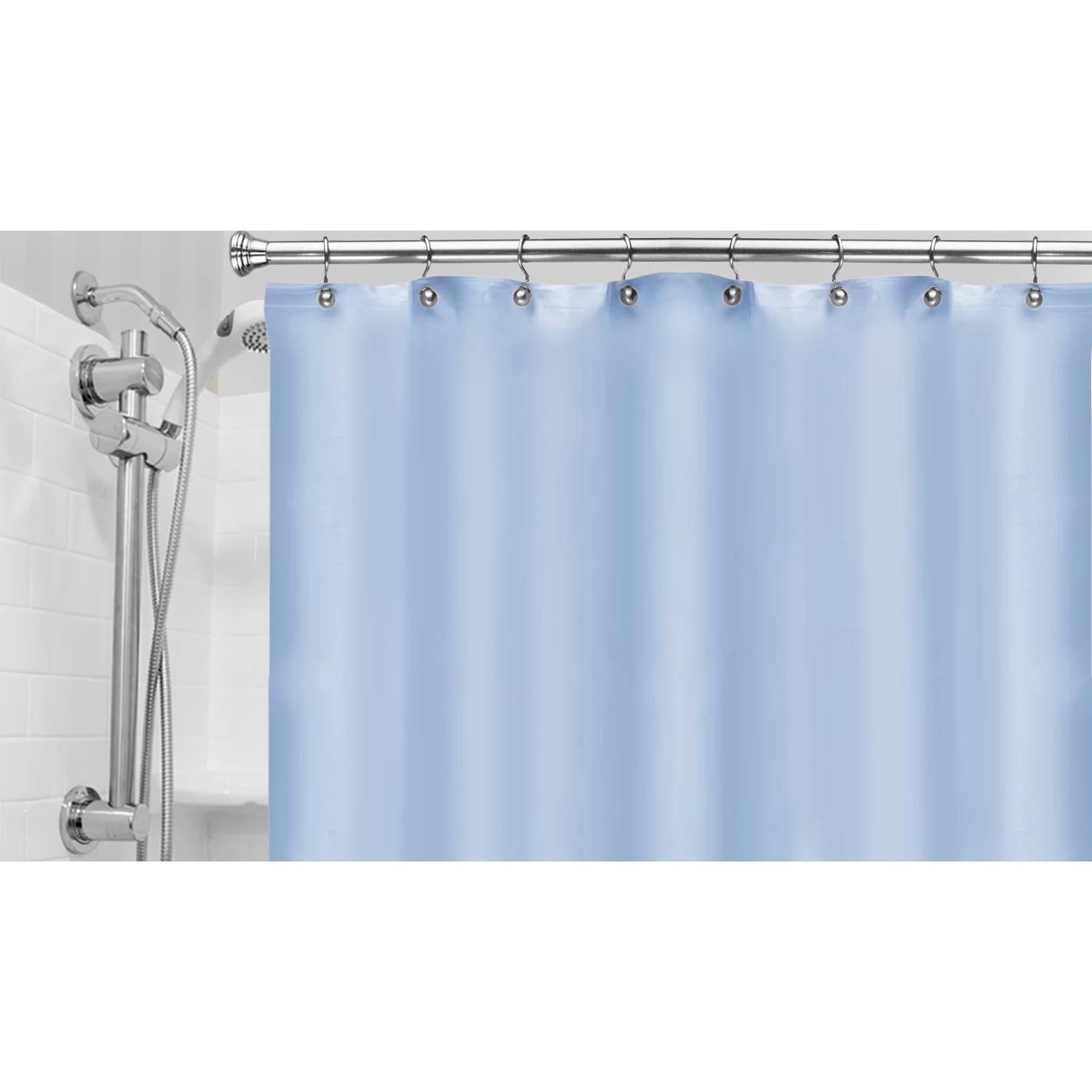 Popular Bath Products Vinyl Hotel Shower Curtain Liner  Reviews  Wayfair
