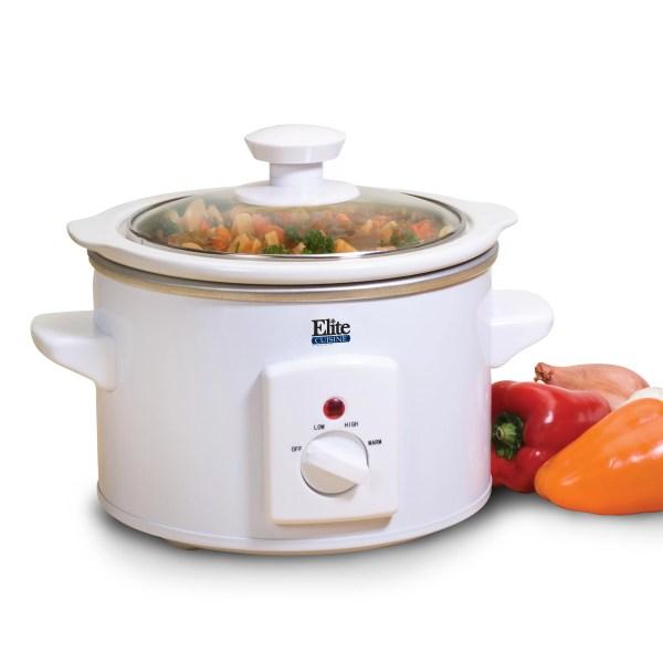 Elite Maxi-matic Cuisine 1.5-quart Mini Slow Cooker &