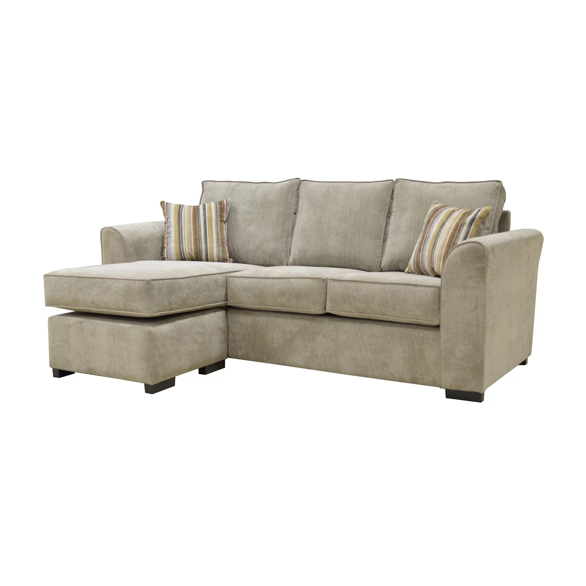 corner sectional sofa reviews lexington brown faux leather chaise factory lara and wayfair uk