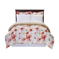 Cathay Home, Inc Floral Comforter Set & Reviews | Wayfair