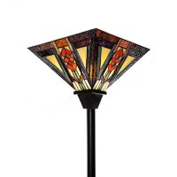 """River of Goods Southwestern 70"""" Torchiere Floor Lamp ..."""