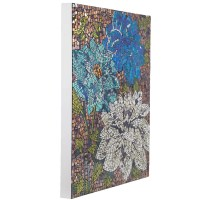 River of Goods Dahlias Mosaic Wall Dcor & Reviews | Wayfair