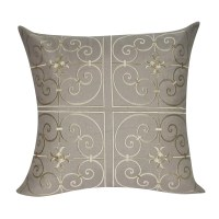 Loom and Mill Floral Embroidered Decorative Throw Pillow ...