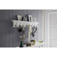 NovaSolo Halifax 8 Hook Coat Rack & Reviews   Wayfair