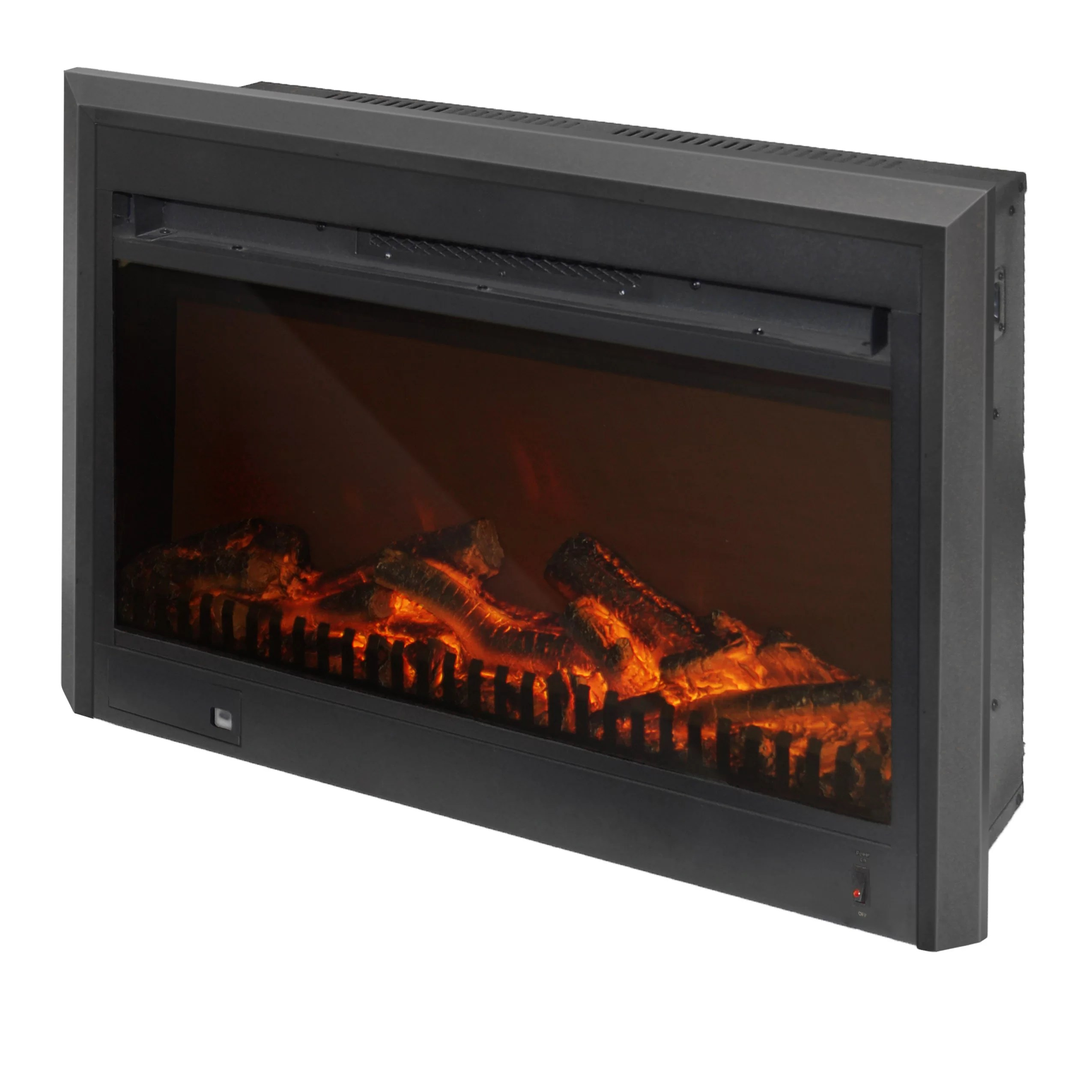 Electric Fireplace Reviews Corliving Electric Fireplace Insert & Reviews | Wayfair