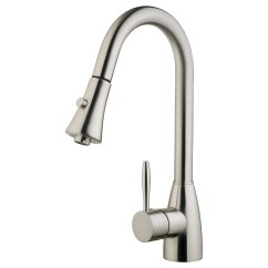 Pull Down Kitchen Faucet Reviews Big Islands Lesscare Single Handle And