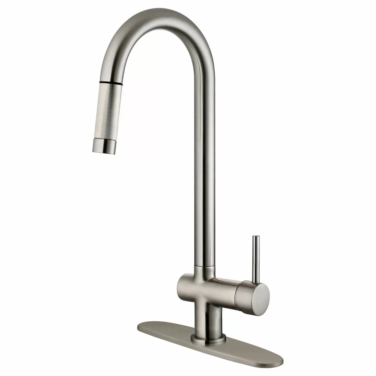 pull down kitchen faucet reviews lesscare single handle and