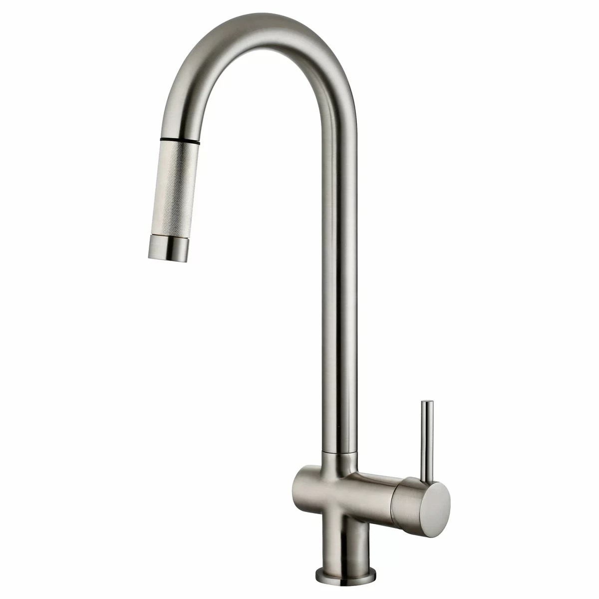 single lever kitchen faucet appliance packages lowes lesscare handle pull down and reviews