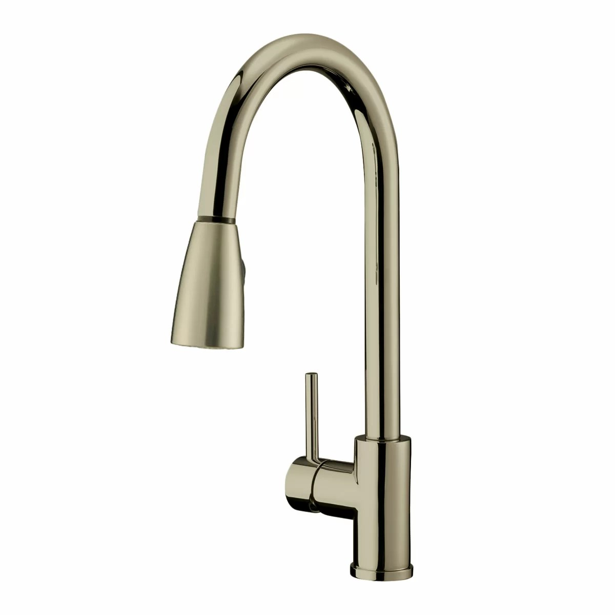 single lever kitchen faucet moving island lesscare handle pull down and reviews