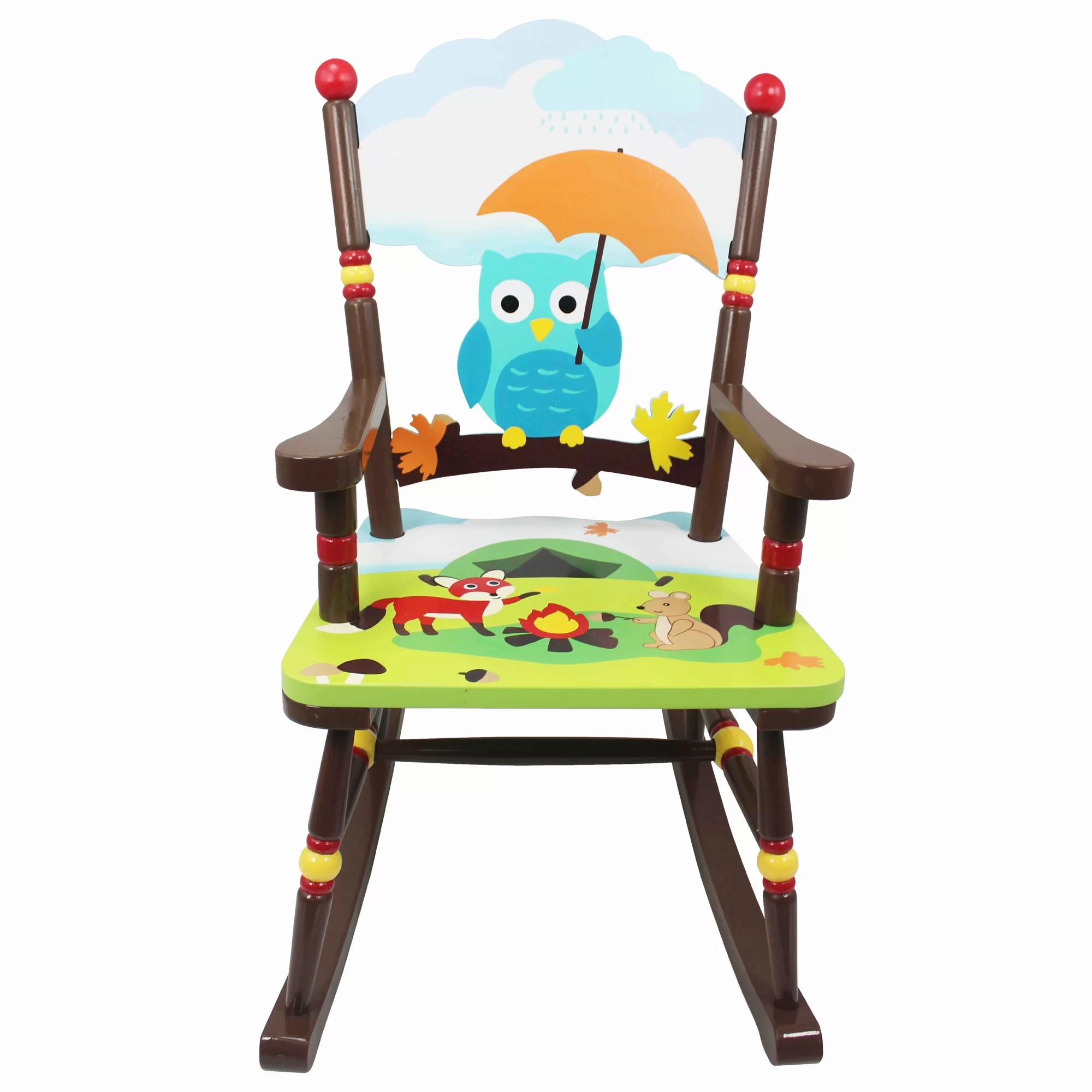 Rocking Chair For Toddlers Fantasy Fields Enchanted Woodland Kids Rocking Chair