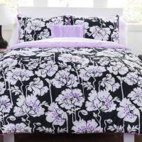 Seventeen Midnight Poppies Comforter Set & Reviews | Wayfair