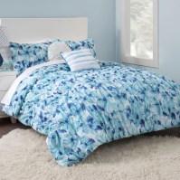 Seventeen Cerulean Floral Comforter Set & Reviews | Wayfair.ca