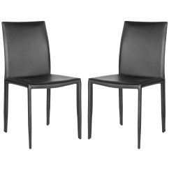 Safavieh Karna Dining Chair Eames Style Rocking Zipcode Design Lacey Side And Reviews Wayfair
