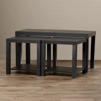 Zipcode Design Clarice 3 Piece Mini Coffee Table Set ...
