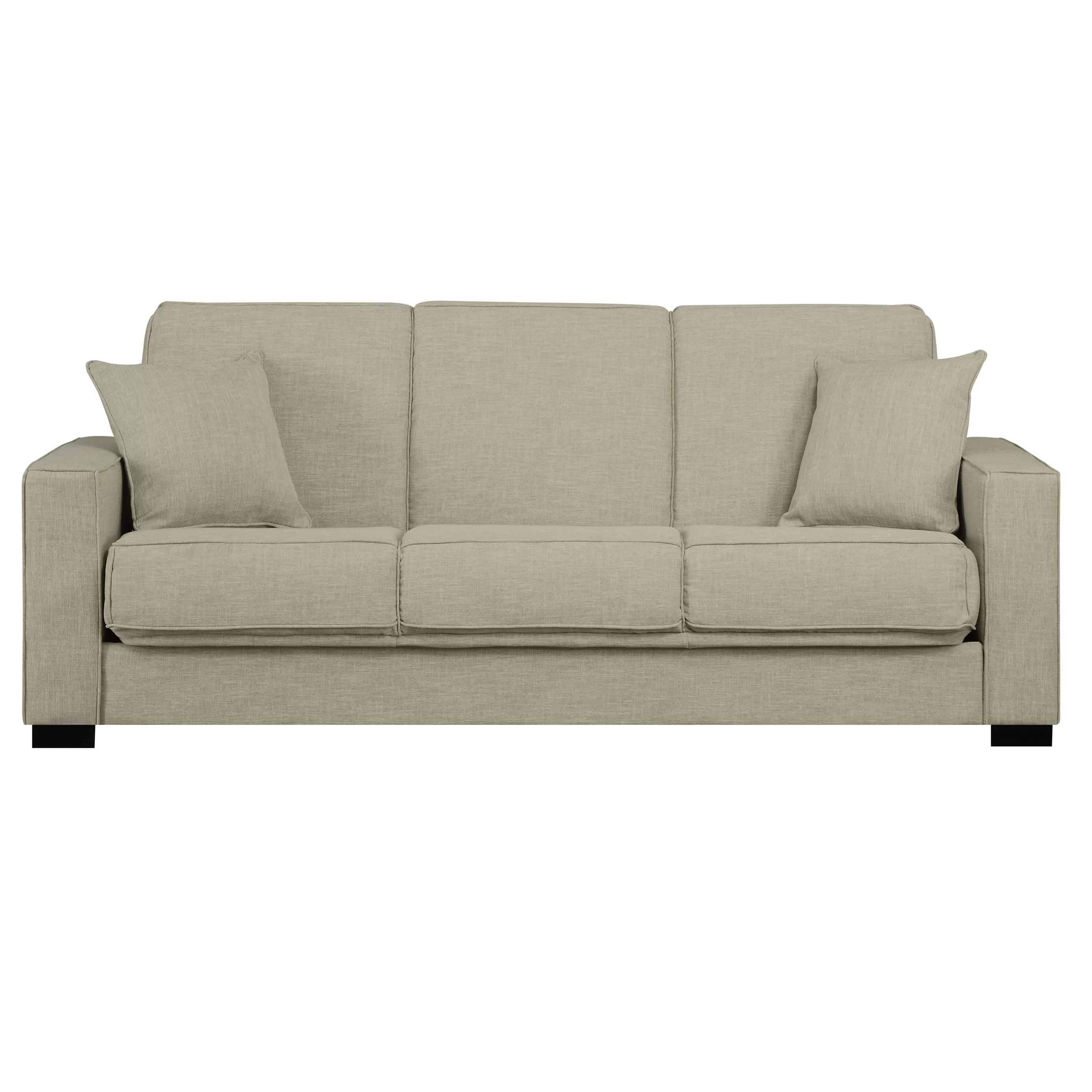 Convertible Chair Sleeper Zipcode Design Kaylee Full Convertible Sleeper Sofa