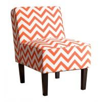 Zipcode Design Ana Chevron Slipper Chair & Reviews | Wayfair