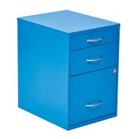 Zipcode Design Cassandra 3 Drawer Metal File Cabinet