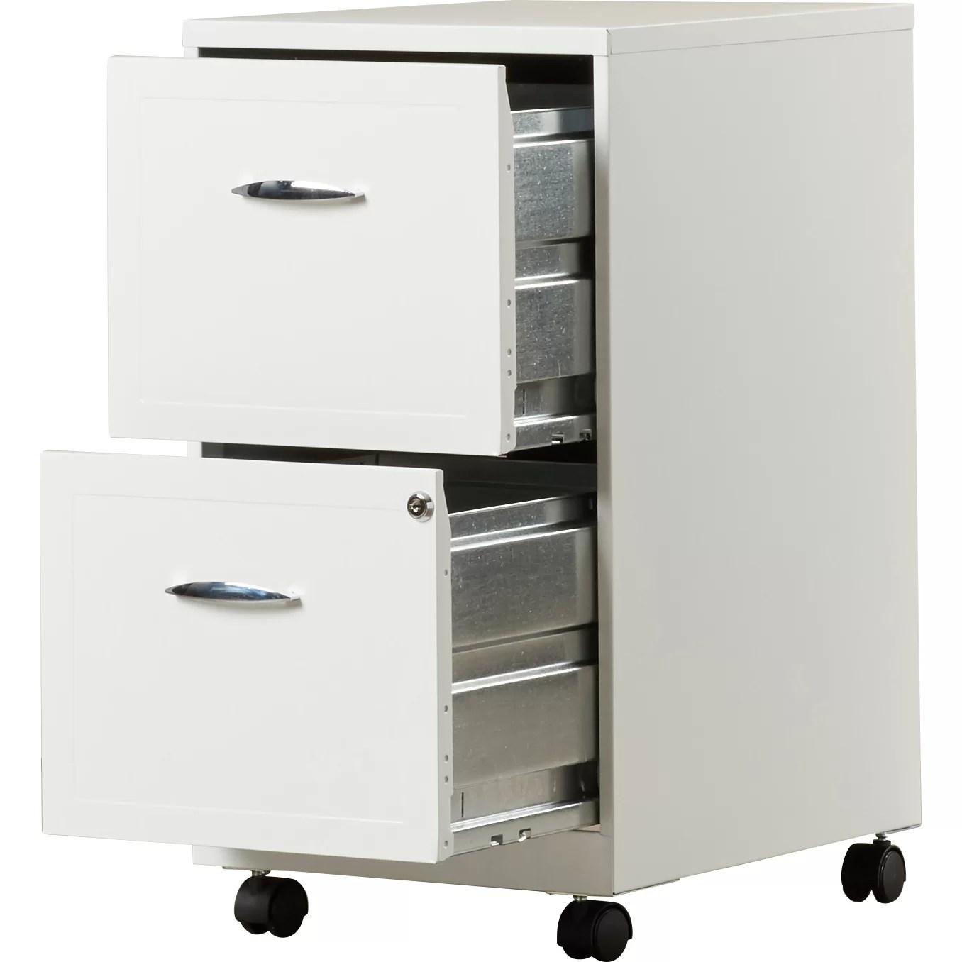 Zipcode Design Gigi 2 Drawer Mobile File Cabinet