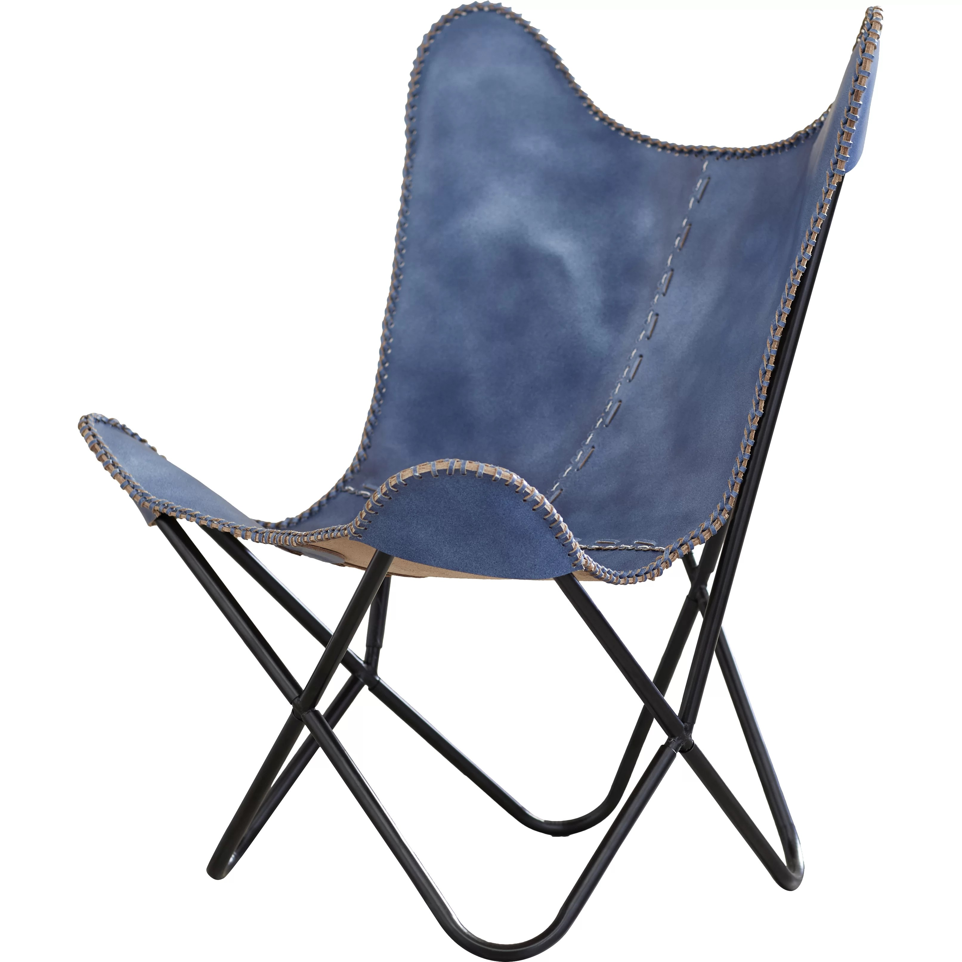 butterfly lounge chair reclining outdoor cushions zipcode design sharon leather