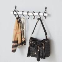 Zipcode Design Metal Wall Mount Coat Rack with Hanging ...