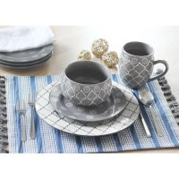 Baum Moroccan 16 Piece Dinnerware Set & Reviews | Wayfair