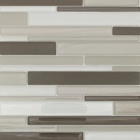 Martini Mosaic Strada Random Sized Glass Mosaic Tile in ...