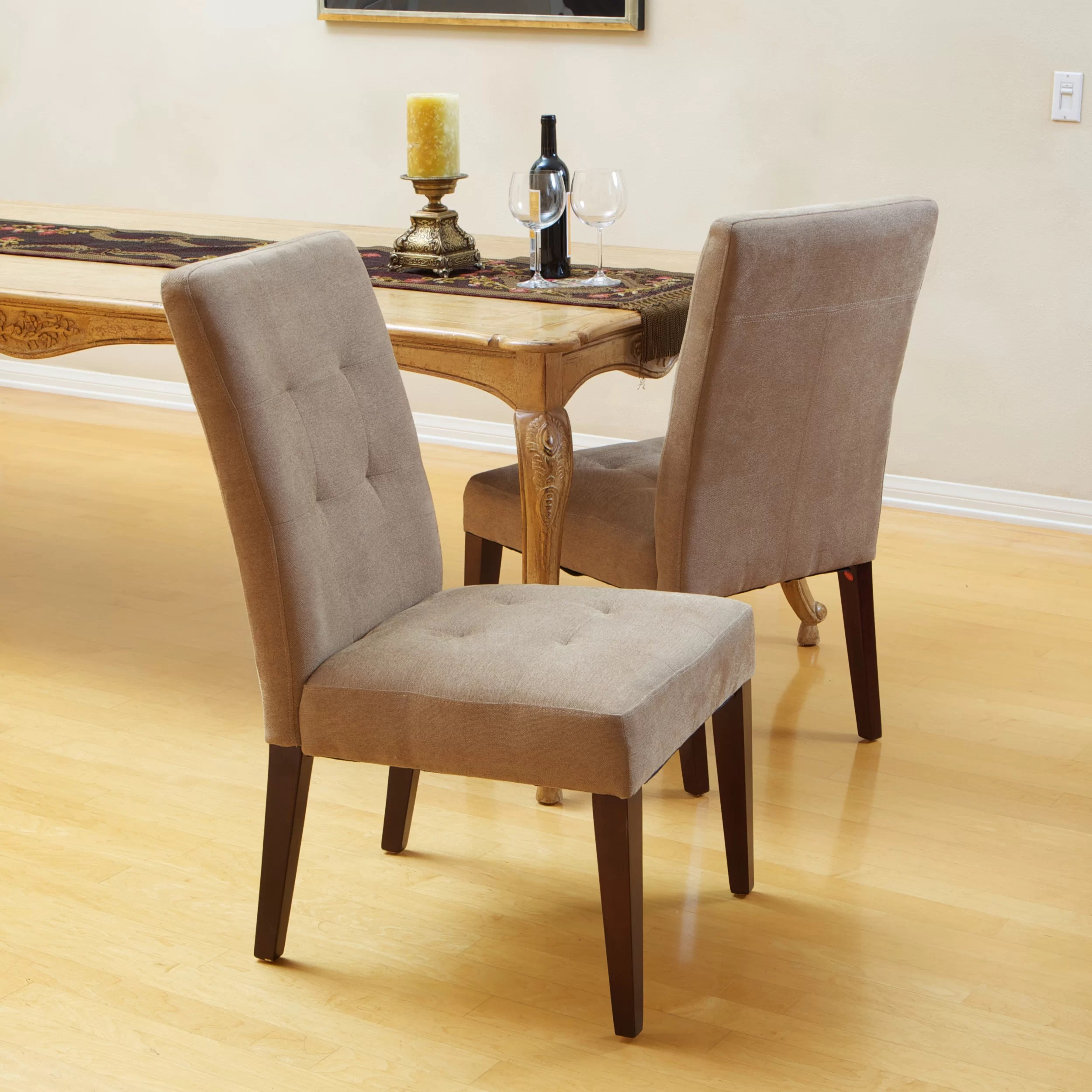 leather tufted dining chair recliner chairs on sale home loft concepts talib