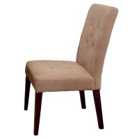 Home Loft Concepts Talib Tufted Leather Dining Chair ...