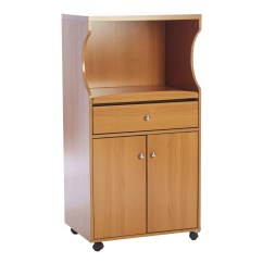 Microwave Kitchen Cart Nooks For Sale Andover Mills With Wood Top And Reviews Wayfair