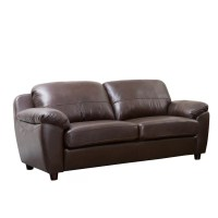 Andover Mills Ashley Leather Loveseat & Reviews