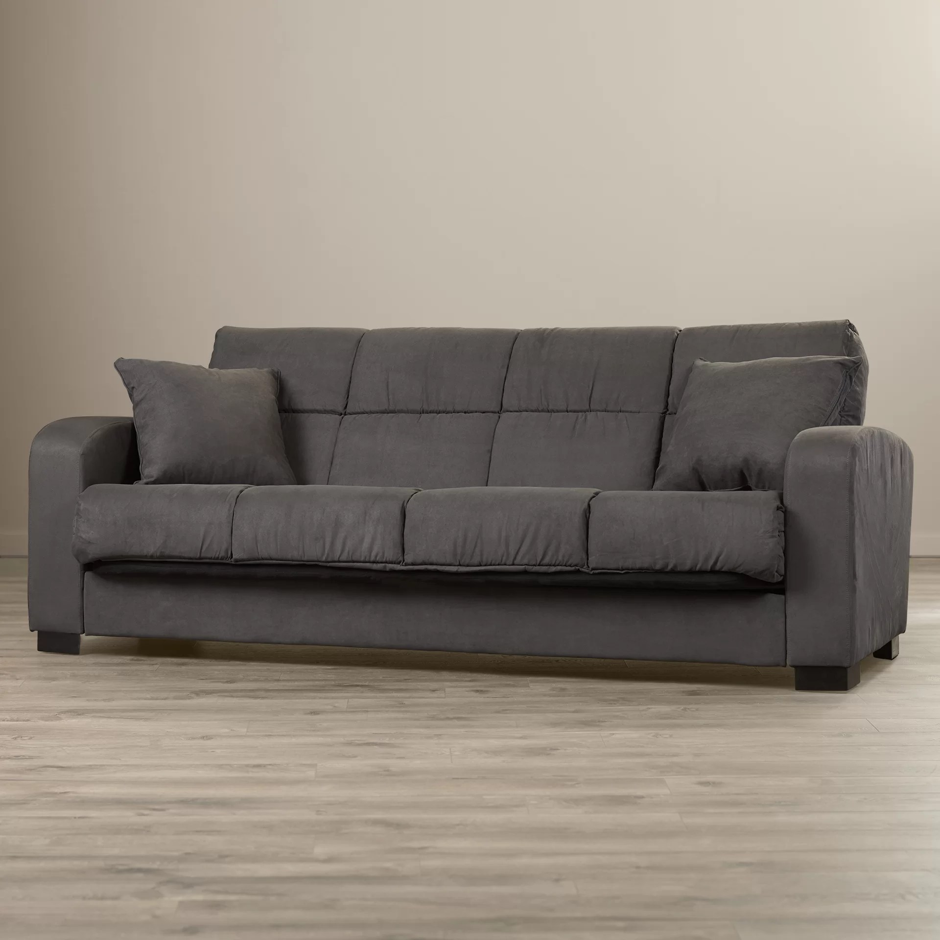 Andover Mills Richardson Full Convertible Sleeper Sofa  Reviews  Wayfair