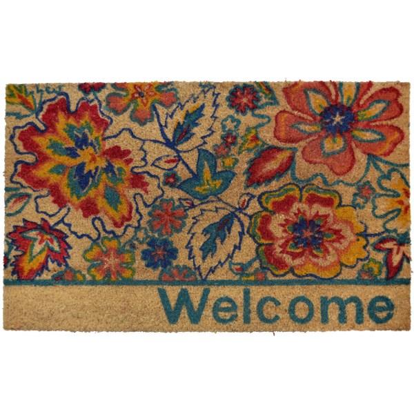 Andover Mills Carrie Floral Doormat &