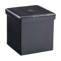 Andover Mills Carisbrooke Cube Upholstered Storage Ottoman ...
