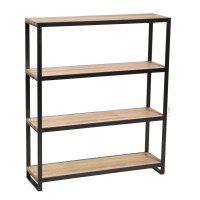 """Sterk Furniture Company Ansted 39"""" Etagere Bookcase 