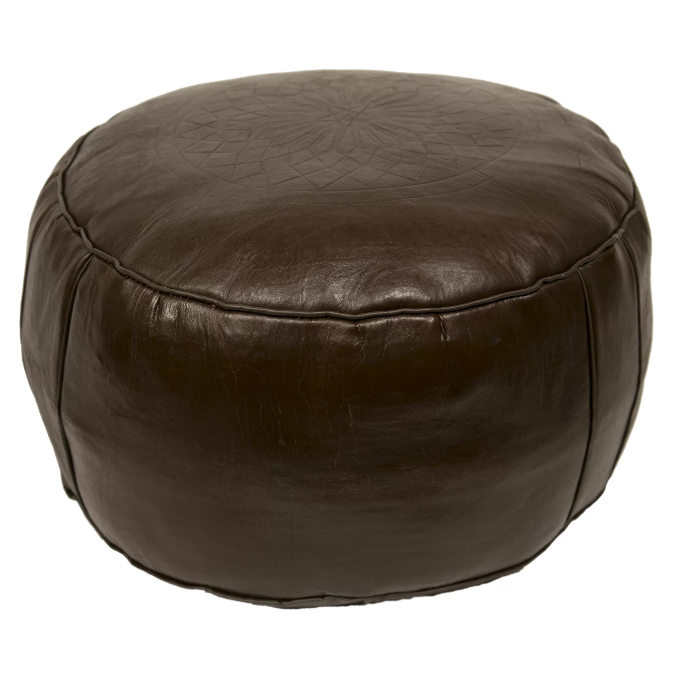 Pouf Chair Casablanca Market Moroccan Leather Pouf Ottoman Iii