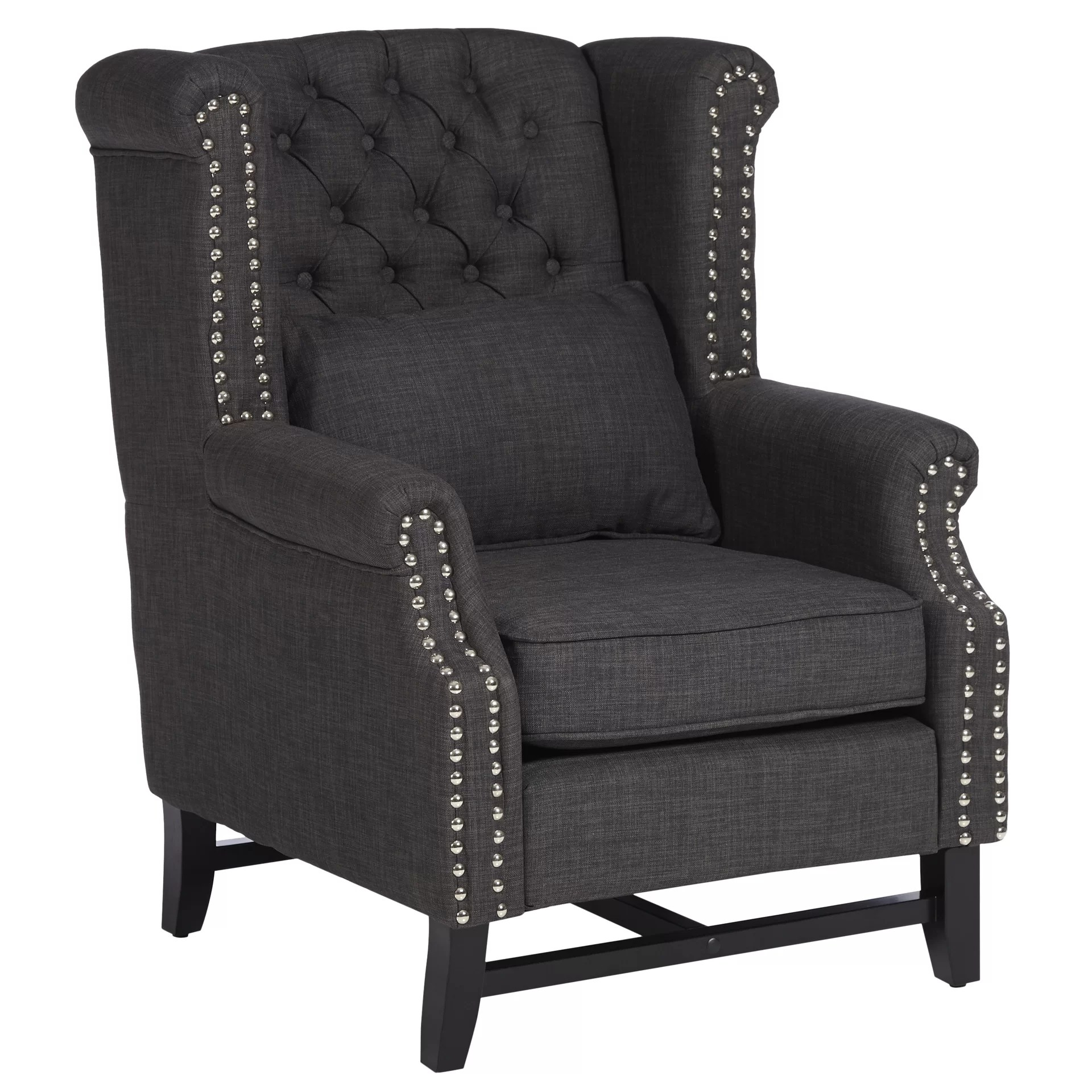 Porter Chair Three Posts Porter High Back Wingback Chair And Reviews