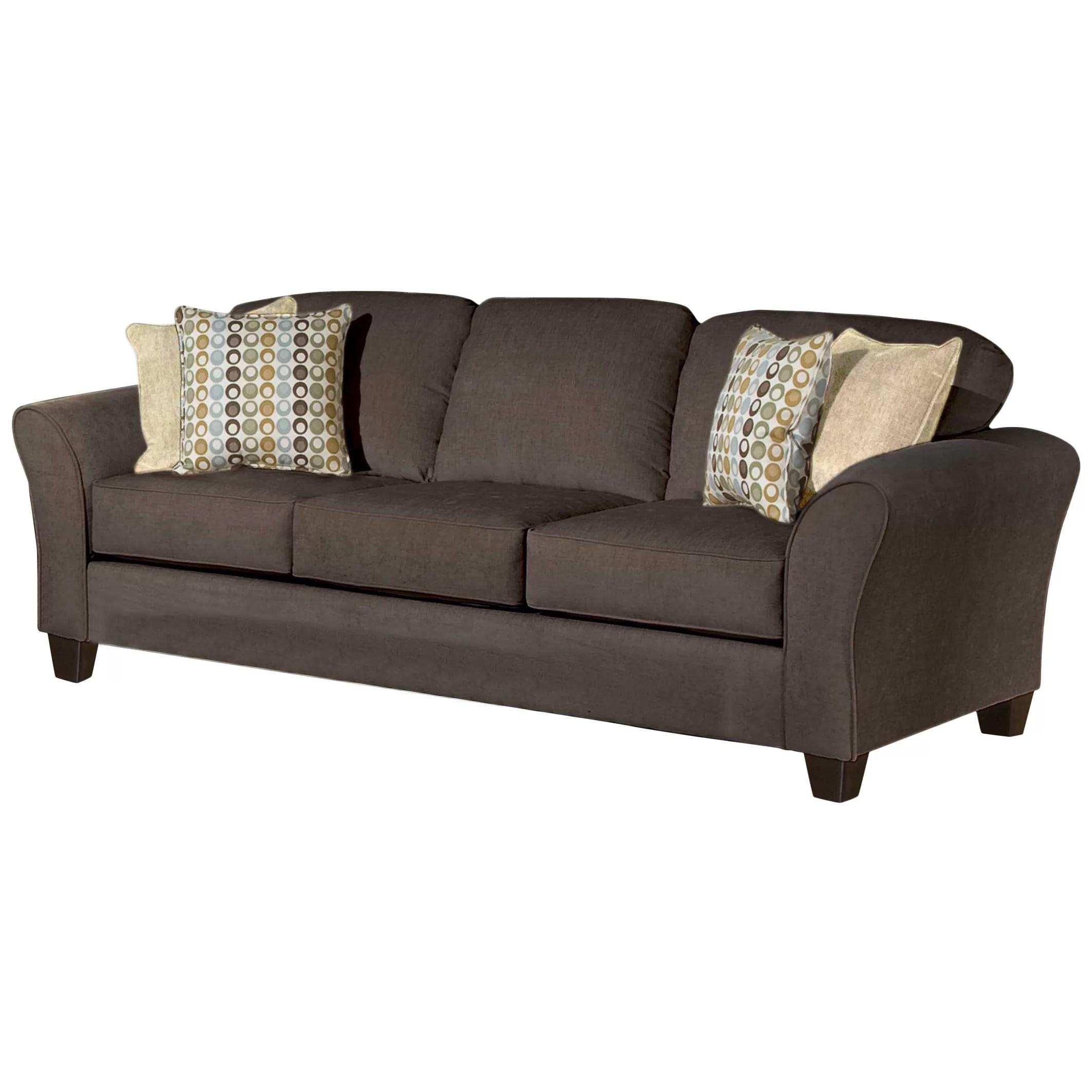 wayfair sofa reviews sleeper bunk bed three posts serta upholstery franklin and