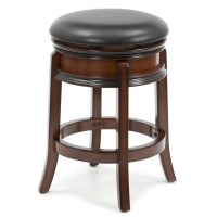 "Three Posts Shenandoah 24"" Swivel Bar Stool & Reviews"