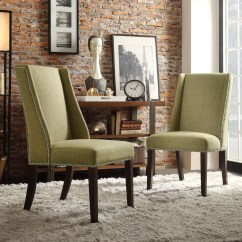 Yellow Parsons Chair Sling Back Three Posts Chicago Wingback And Reviews Wayfair