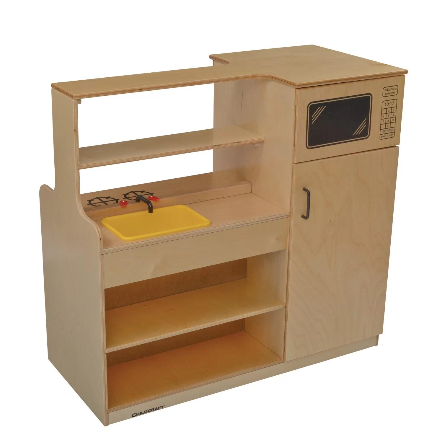 Childcraft Mobile Island Play Kitchen  Wayfair