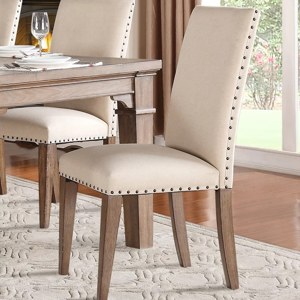 Homelegance Mill Valley Side Chair  Reviews  Wayfair