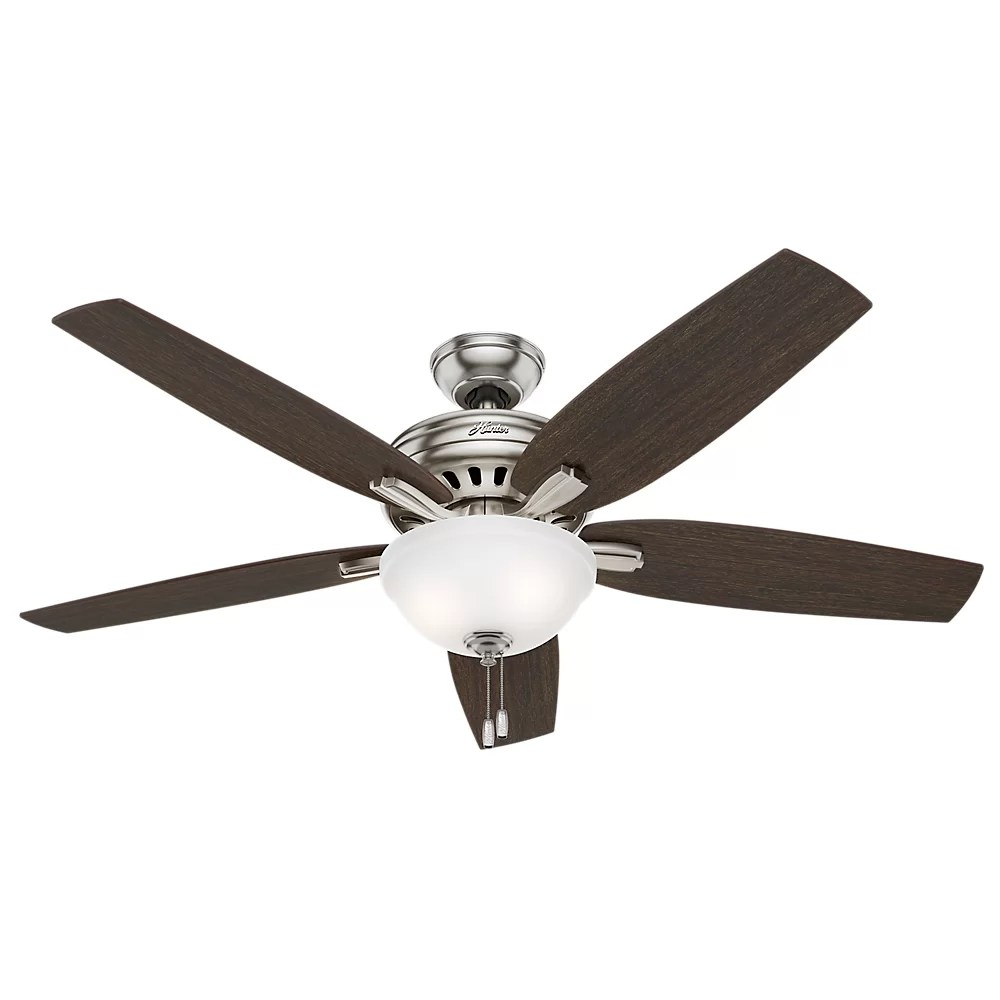 "Hunter Fan 56"" Newsome 5 Blade Ceiling Fan & Reviews"