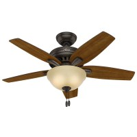 "Hunter Fan 42"" Newsome 5 Blade Ceiling Fan & Reviews"