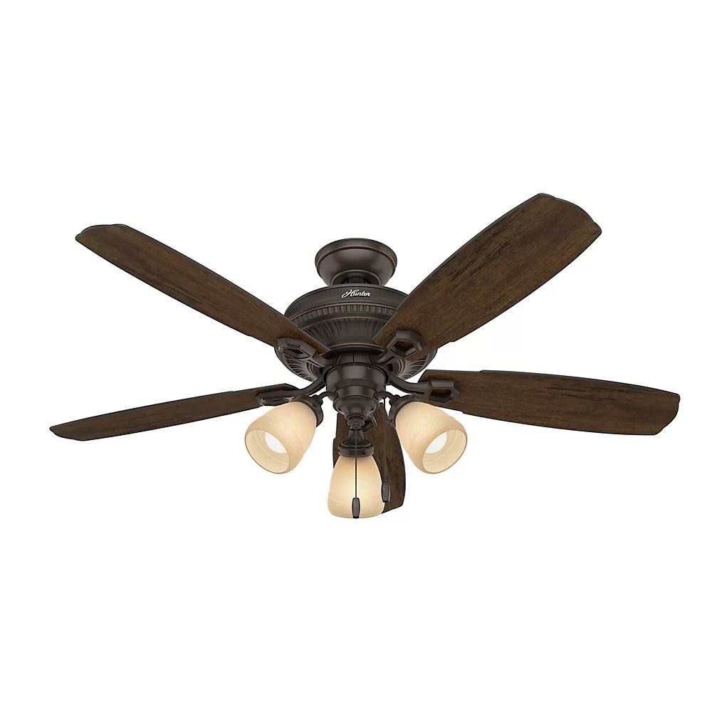 """Hunter Fan 52"""" Ambrose 5 Blade Ceiling Fan"""