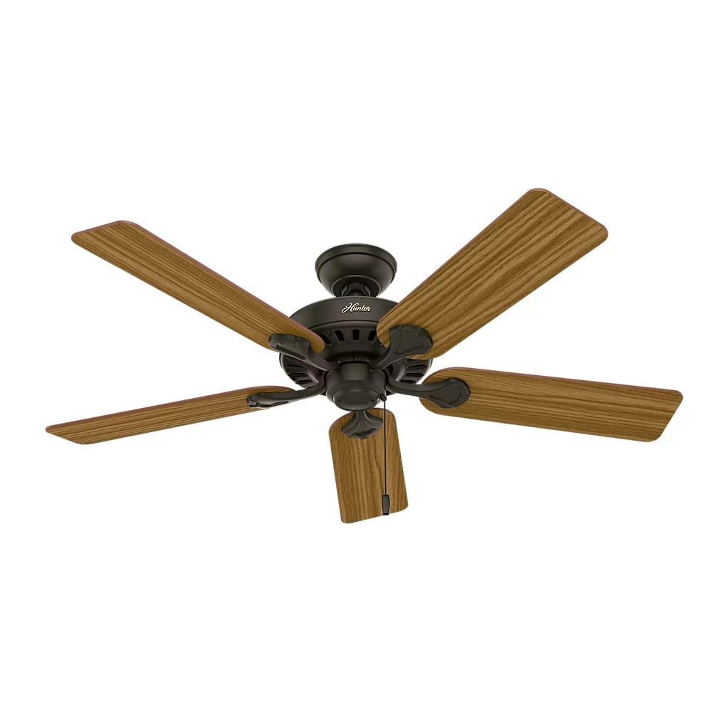 """Hunter Fan 52"""" Pro's Best Five Minute 5 Blade Ceiling Fan"""