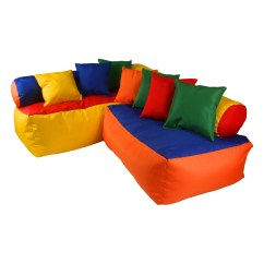 Kids Sofa Set Vine Leather Sofas Wrigglebox Playtime And Reviews Wayfair Uk