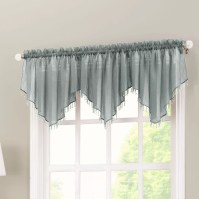 "No. 918 Crushed Sheer Voile 51"" Curtain Valance & Reviews ..."