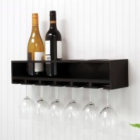 nexxt Design 4 Bottle Wall Mounted Wine Rack & Reviews ...